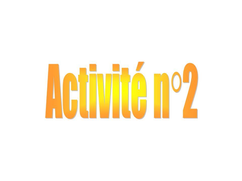 Activité n°2