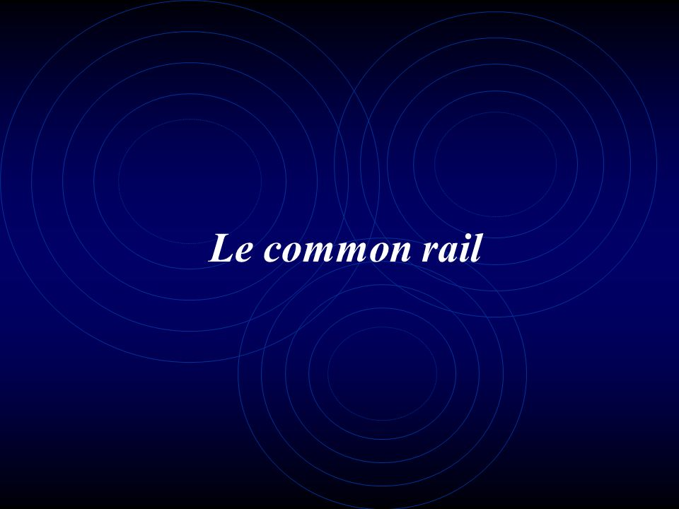 Le common rail