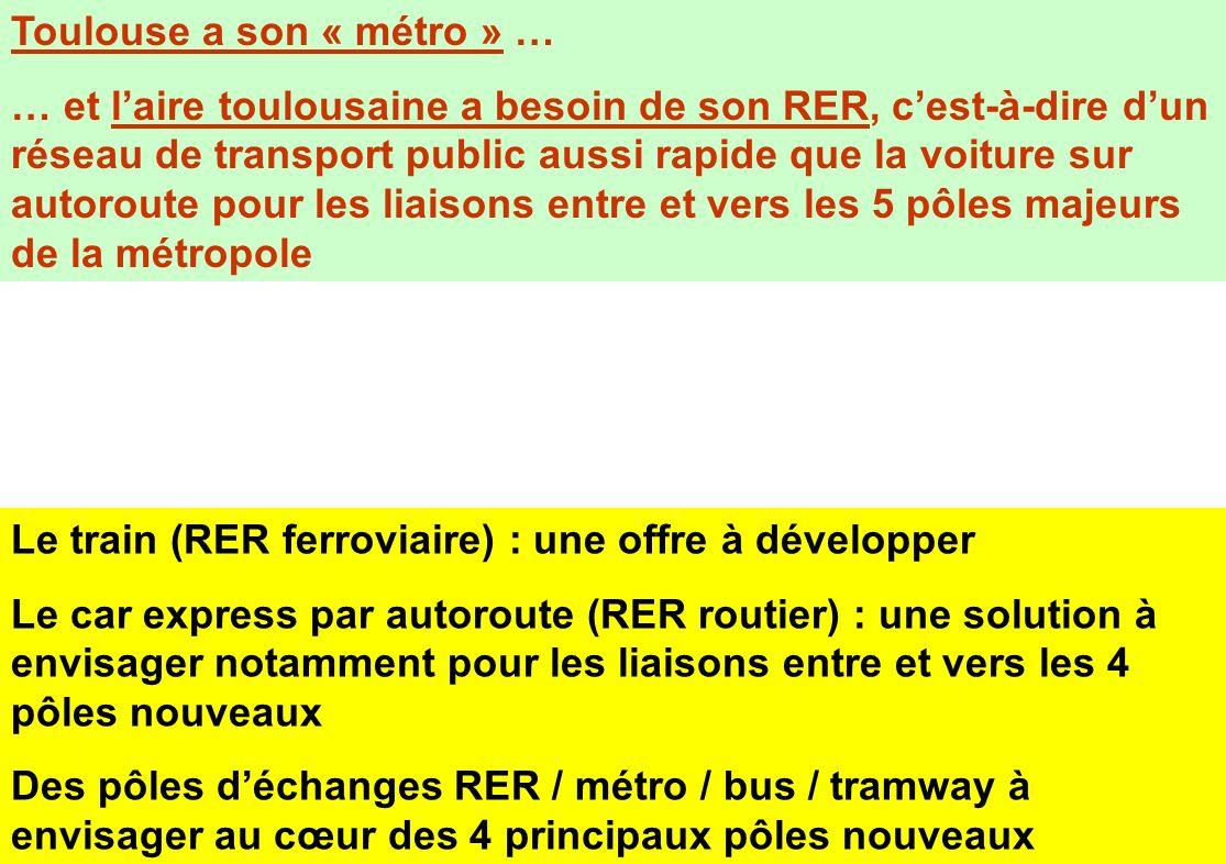 Toulouse a son « métro » …