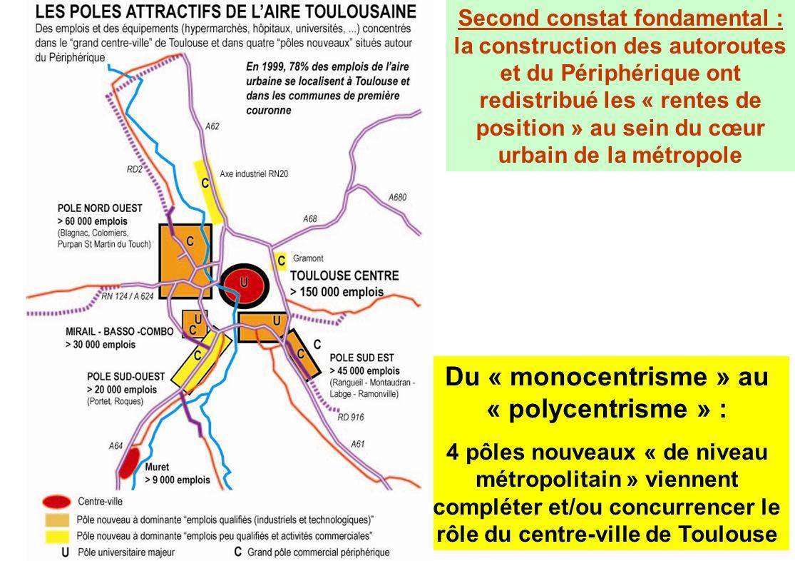 Du « monocentrisme » au « polycentrisme » :