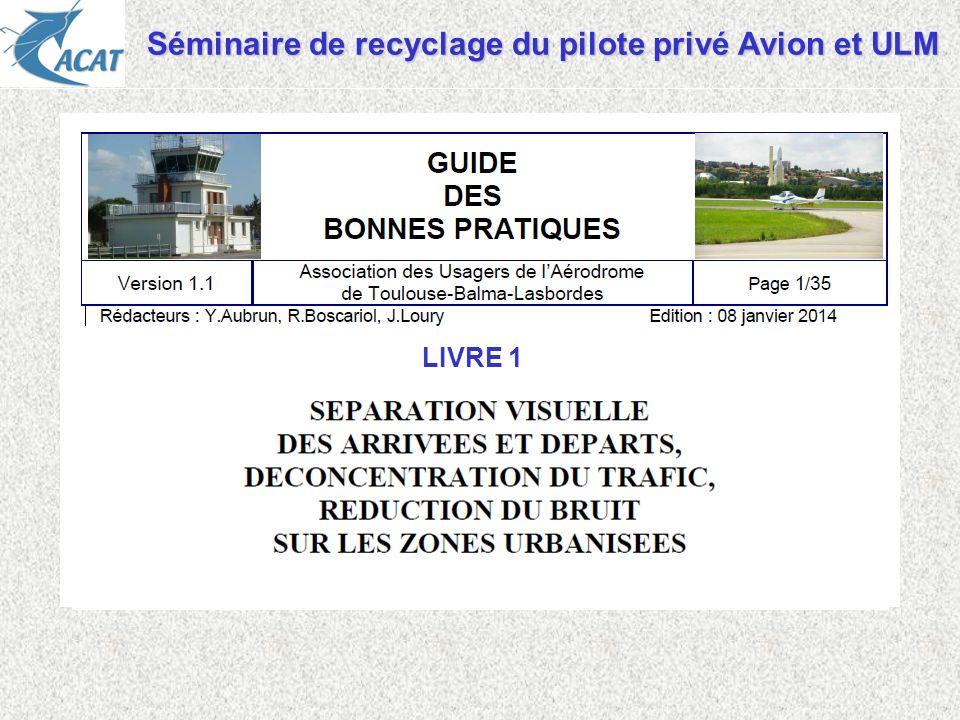 Séminaire de recyclage du pilote privé Avion et ULM