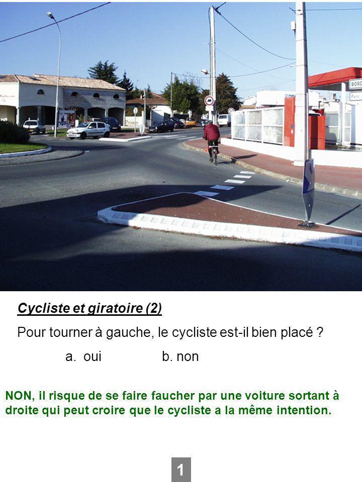 1 Cycliste et giratoire (2)