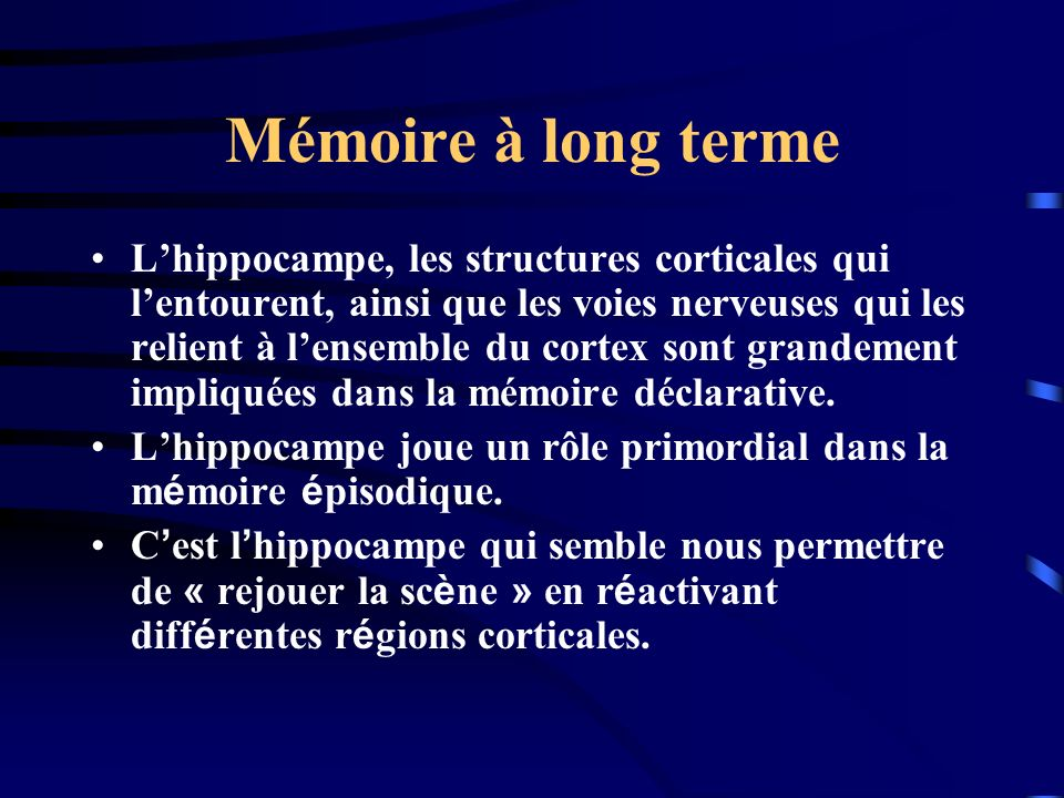 Mémoire à long terme