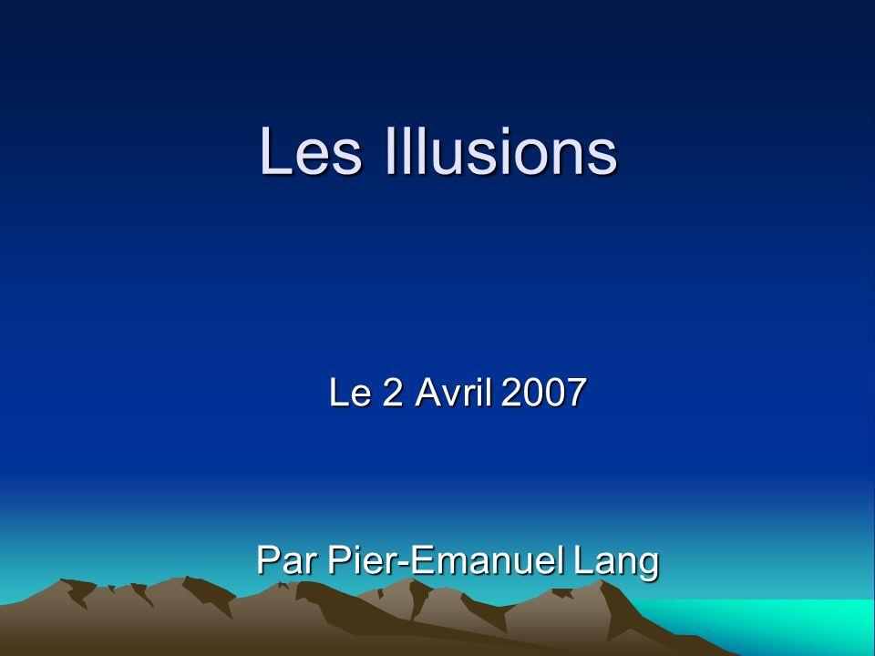 Le 2 Avril 2007 Par Pier-Emanuel Lang