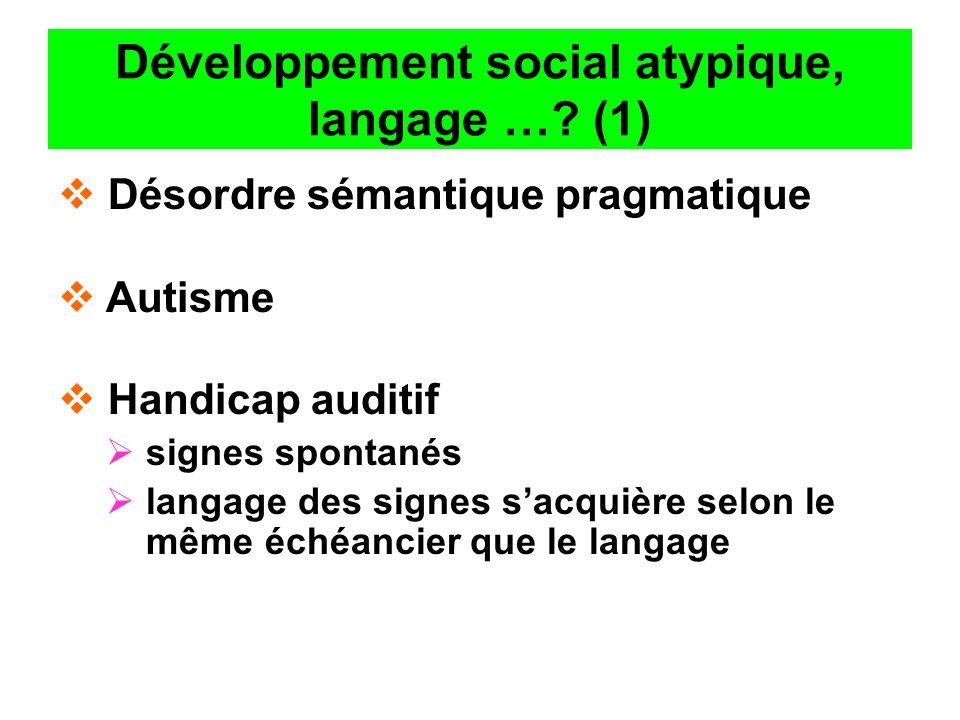 Développement social atypique, langage … (1)