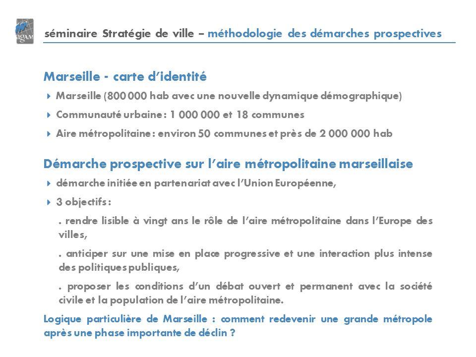 Marseille - carte d'identité