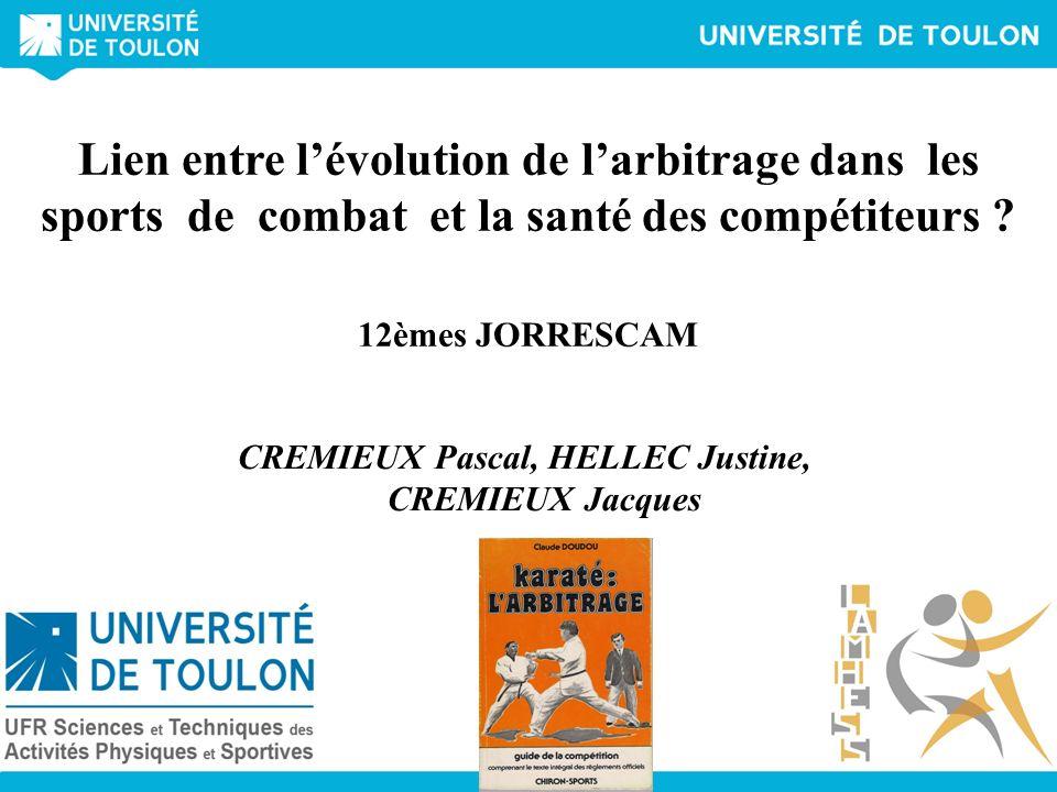 CREMIEUX Pascal, HELLEC Justine, CREMIEUX Jacques