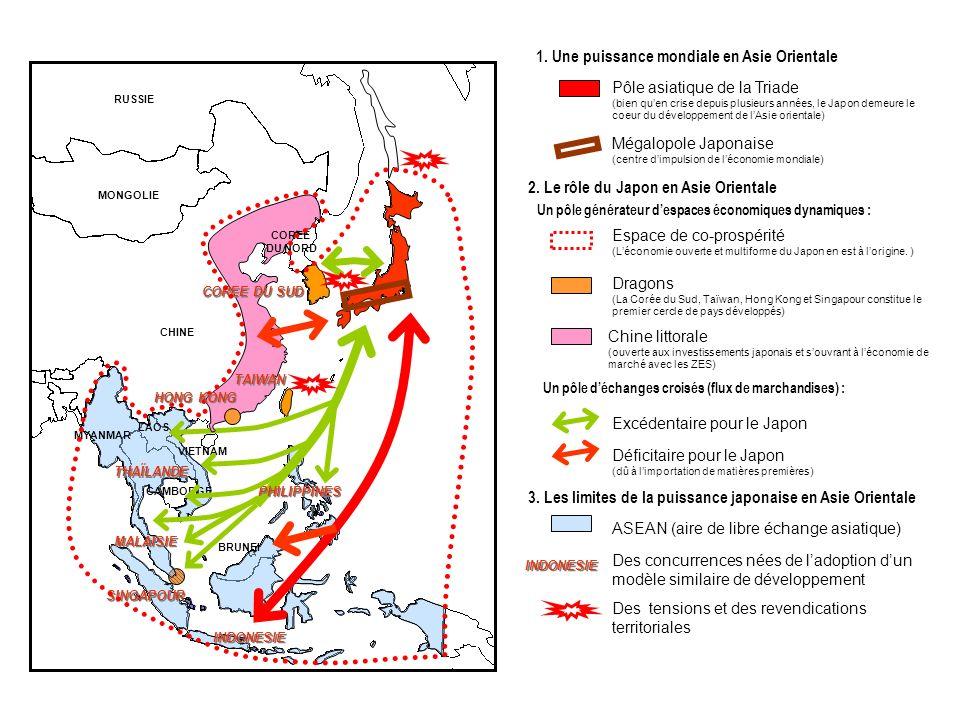 1. Une puissance mondiale en Asie Orientale