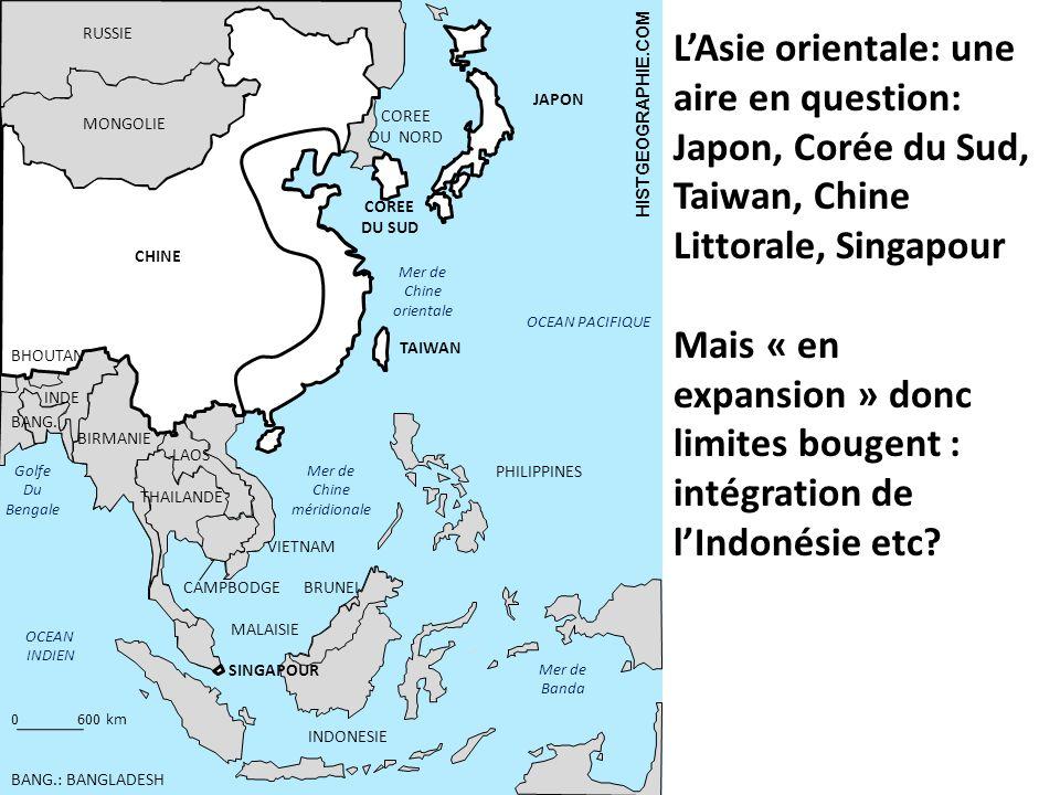 RUSSIE L'Asie orientale: une aire en question: Japon, Corée du Sud, Taiwan, Chine Littorale, Singapour.