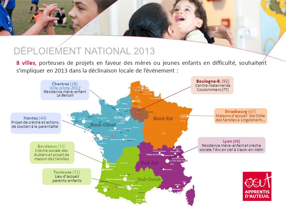 DÉPLOIEMENT NATIONAL 2013