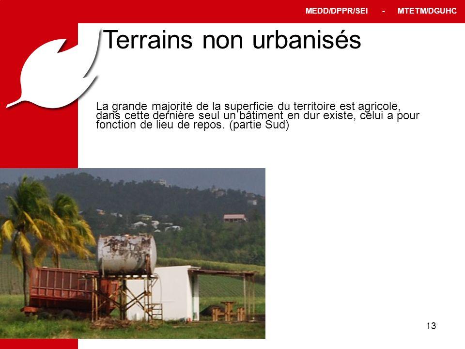 Terrains non urbanisés