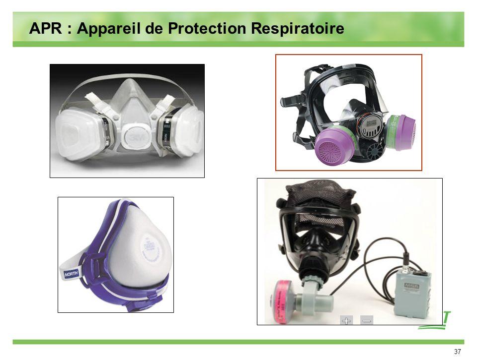 APR : Appareil de Protection Respiratoire