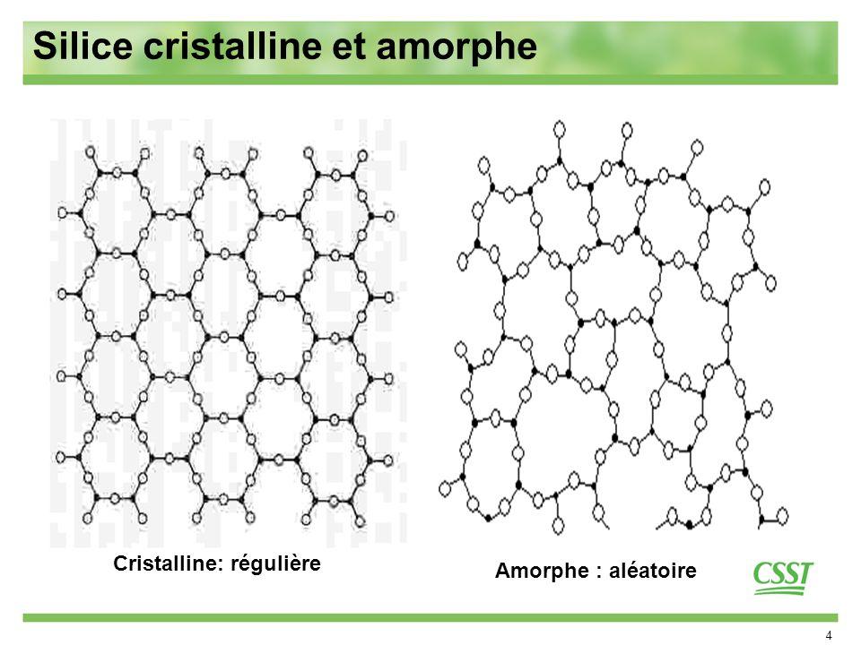 Cristalline: régulière
