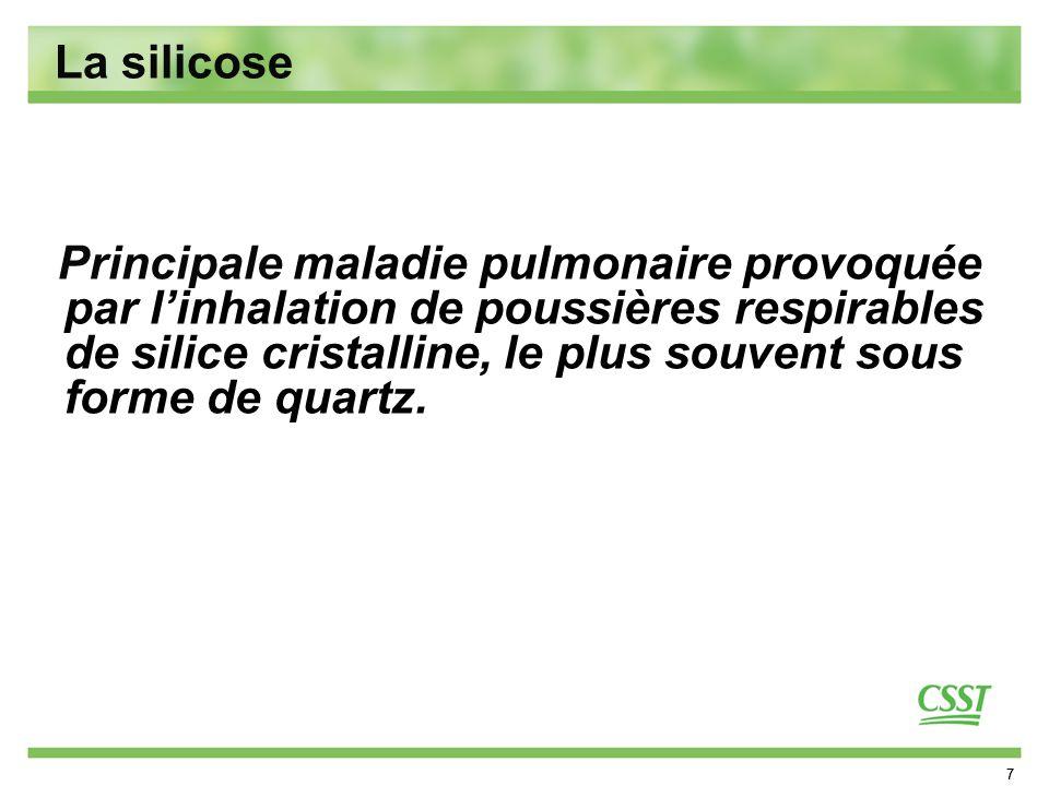 La silicose