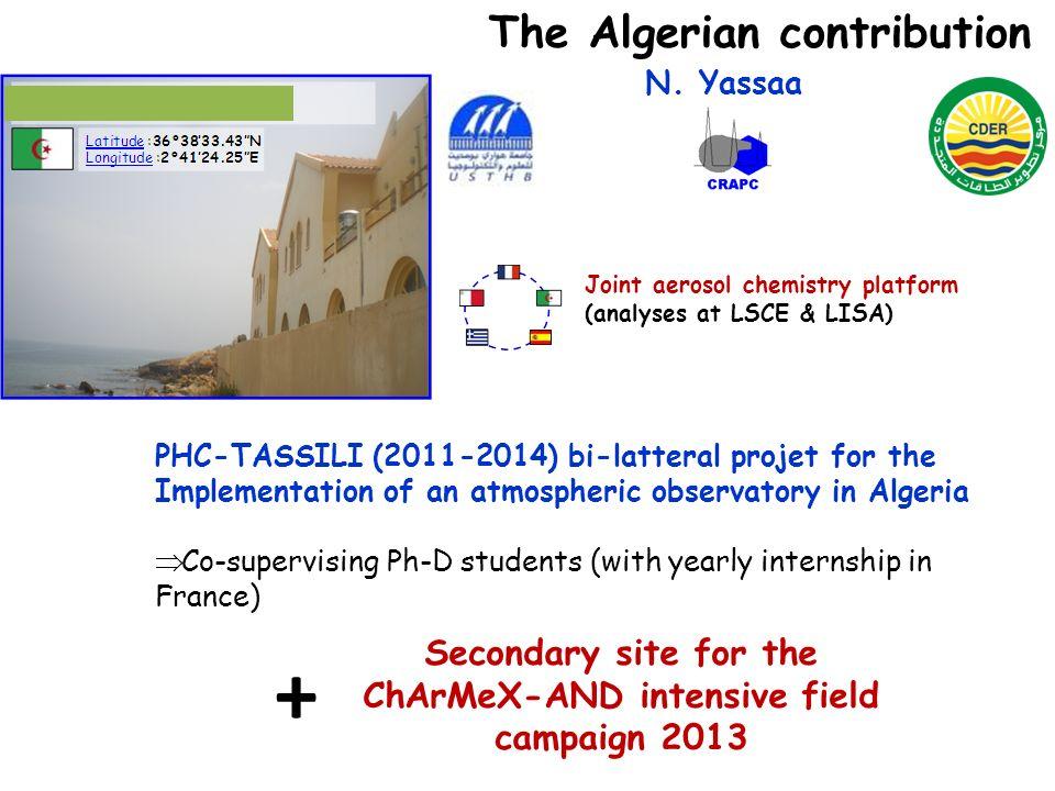 + The Algerian contribution