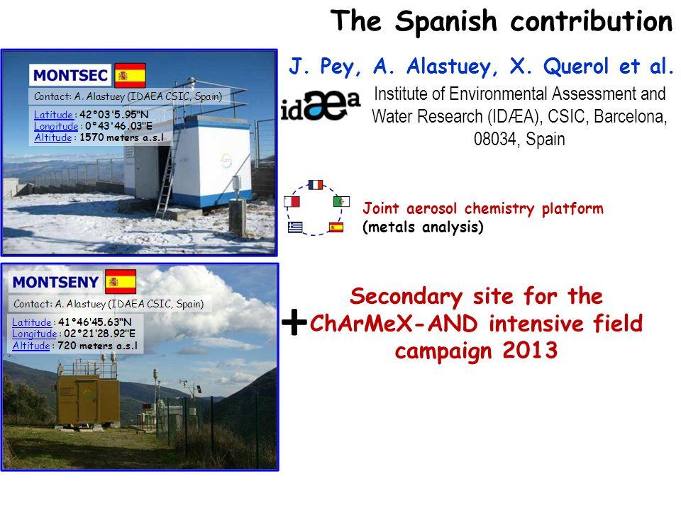 + The Spanish contribution