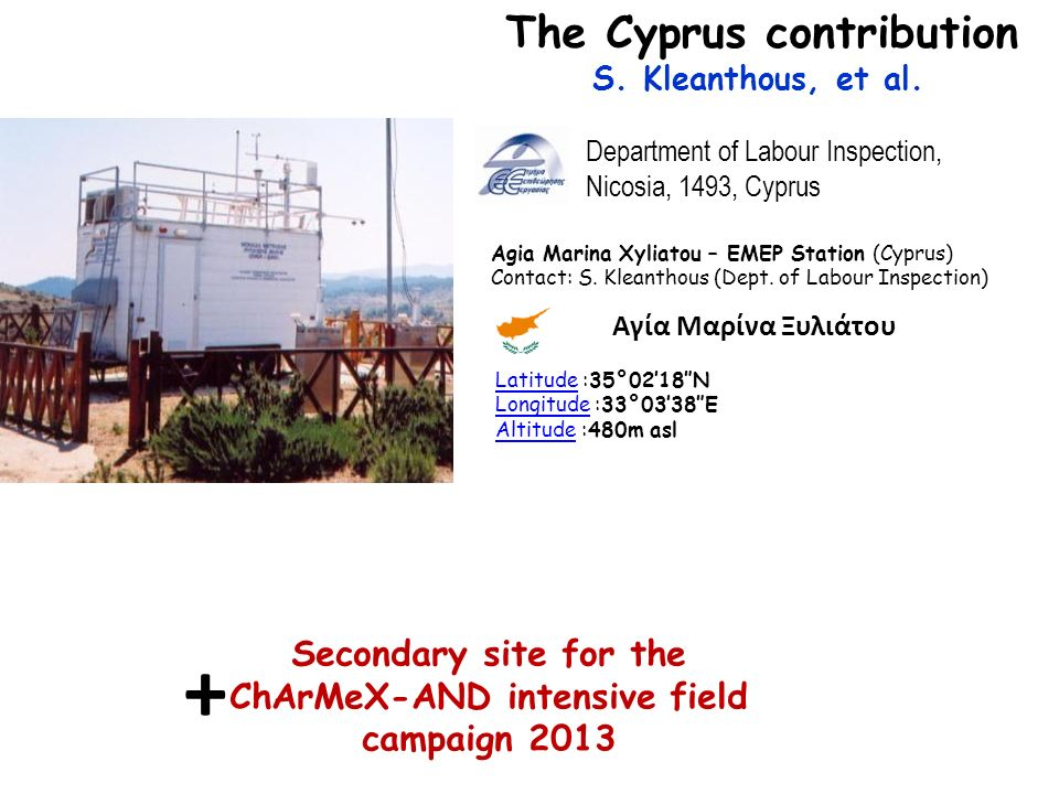 + The Cyprus contribution
