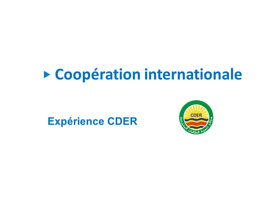 Coopération internationale