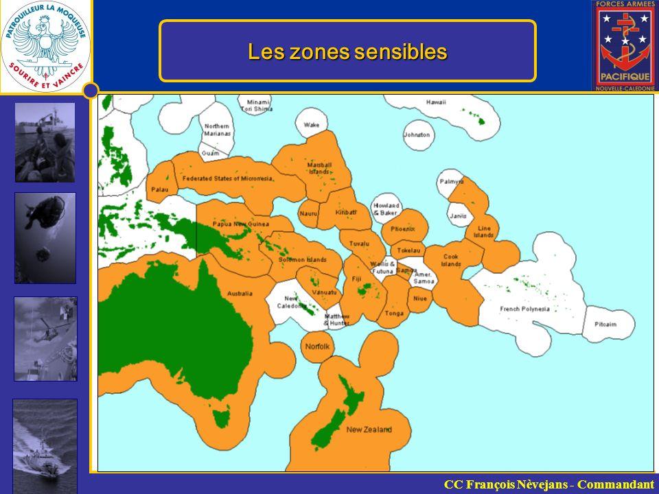 Les zones sensibles CC François Nèvejans - Commandant 12