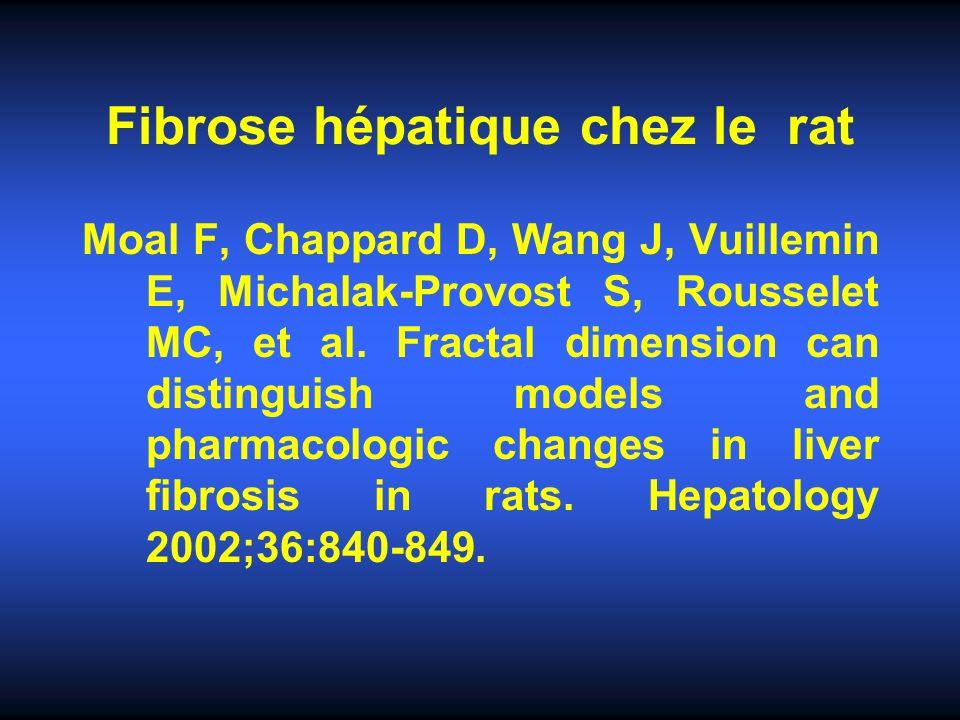 Fibrose hépatique chez le rat
