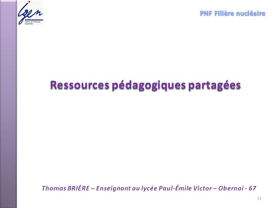 Ressources pédagogiques partagées