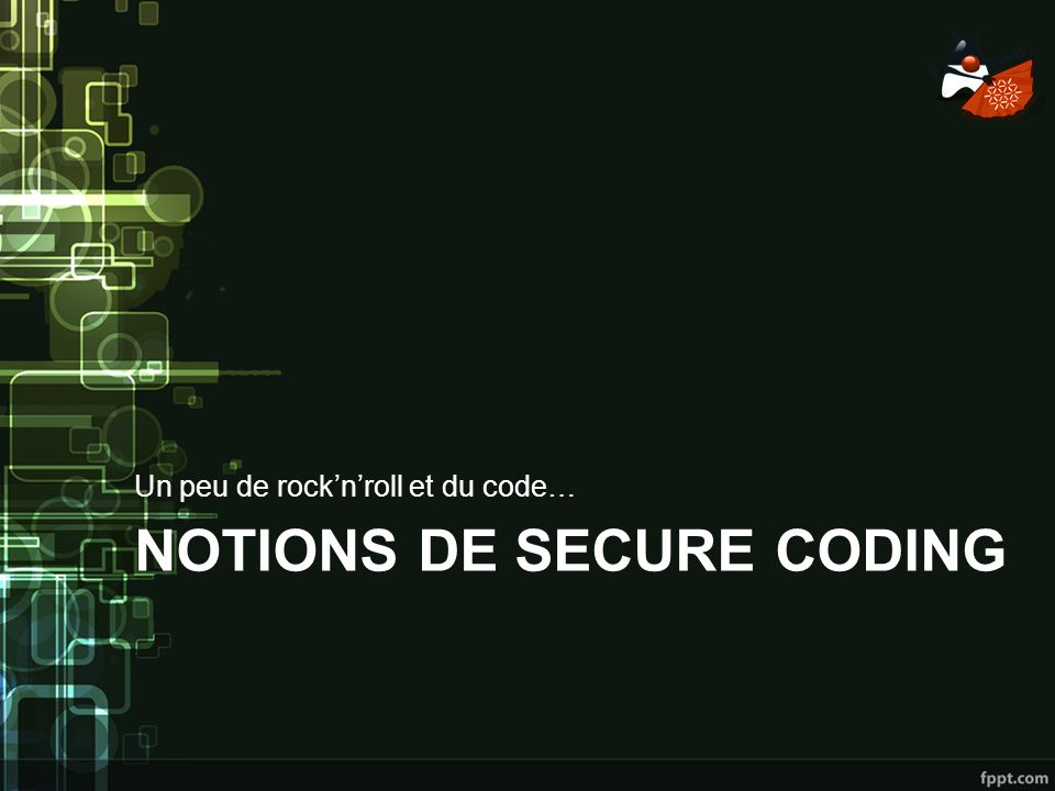Notions de secure CODING