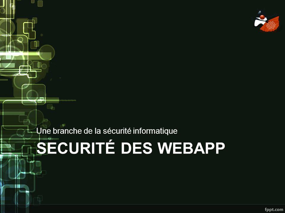 Une branche de la sécurité informatique