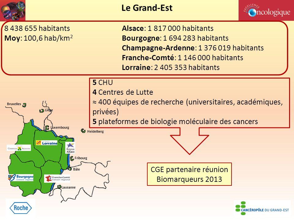 CGE partenaire réunion Biomarqueurs 2013