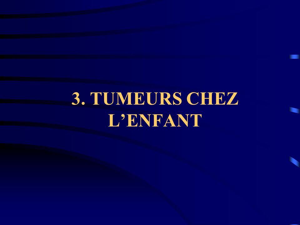 3. TUMEURS CHEZ L'ENFANT