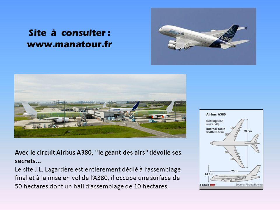 Site à consulter : www.manatour.fr