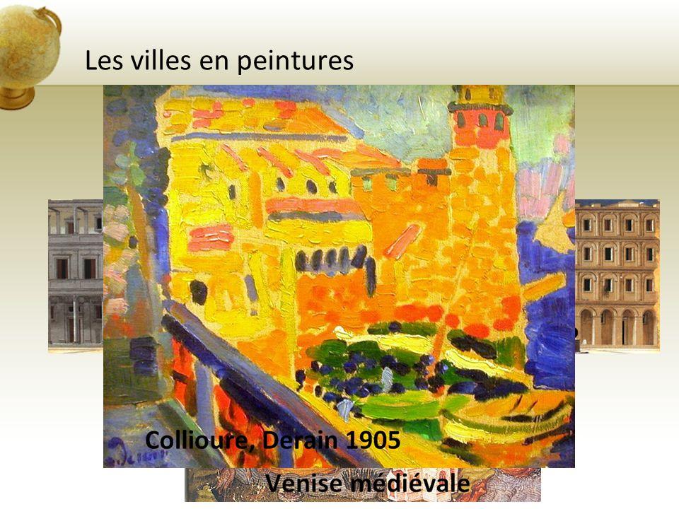 Les villes en peintures