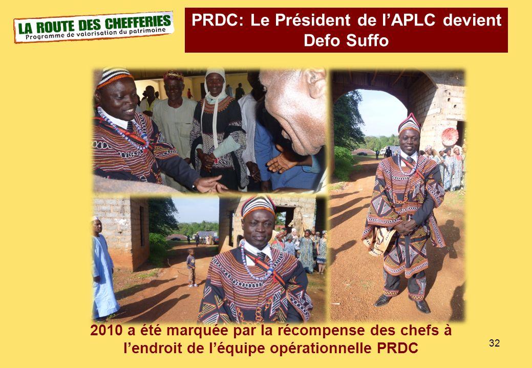 PRDC: Le Président de l'APLC devient Defo Suffo
