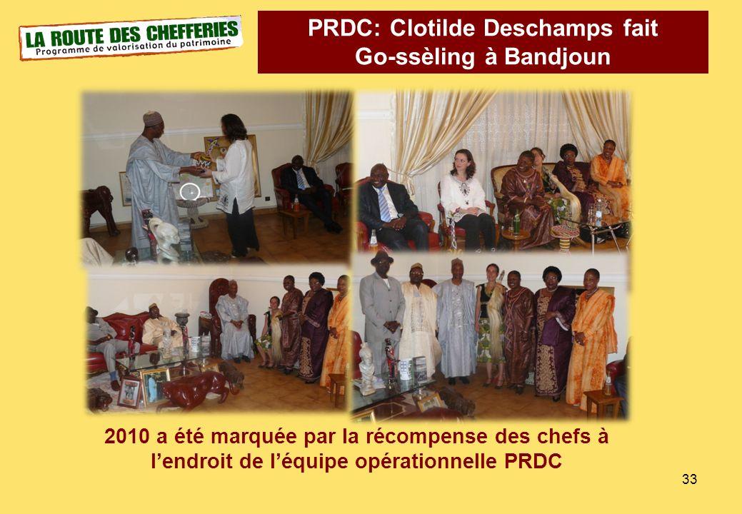 PRDC: Clotilde Deschamps fait Go-ssèling à Bandjoun