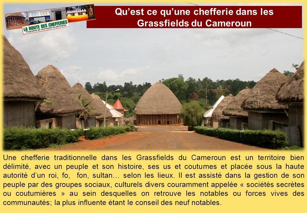 Qu'est ce qu'une chefferie dans les Grassfields du Cameroun