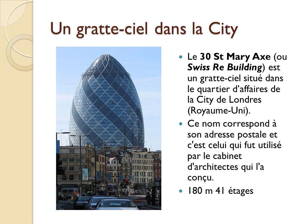 Un gratte-ciel dans la City