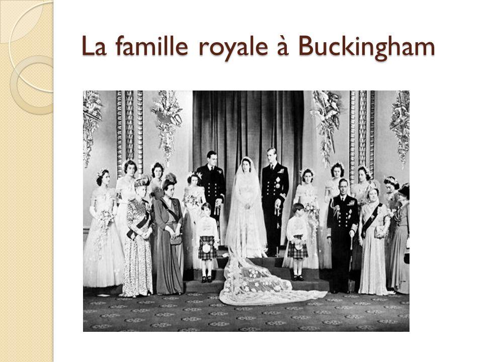 La famille royale à Buckingham