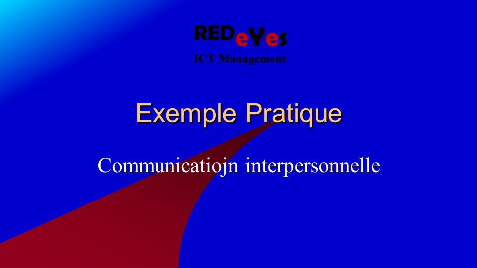 Communicatiojn interpersonnelle