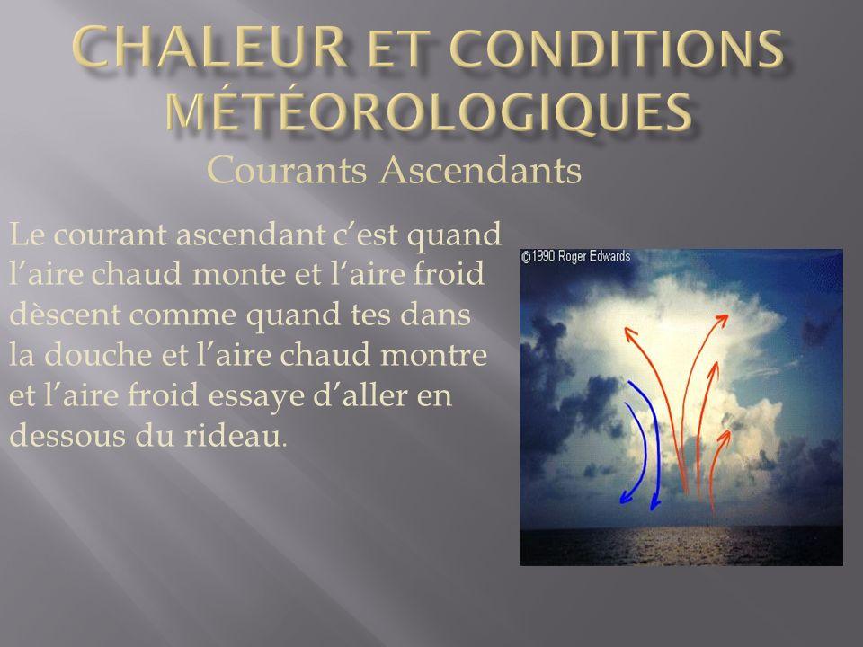 Chaleur et conditions météorologiques
