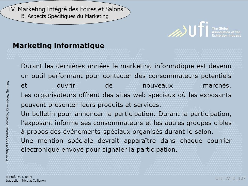 Marketing informatique