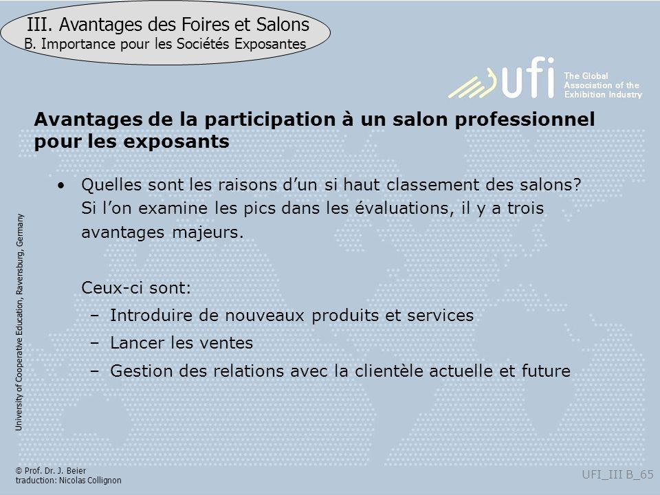 Avantages de la participation à un salon professionnel