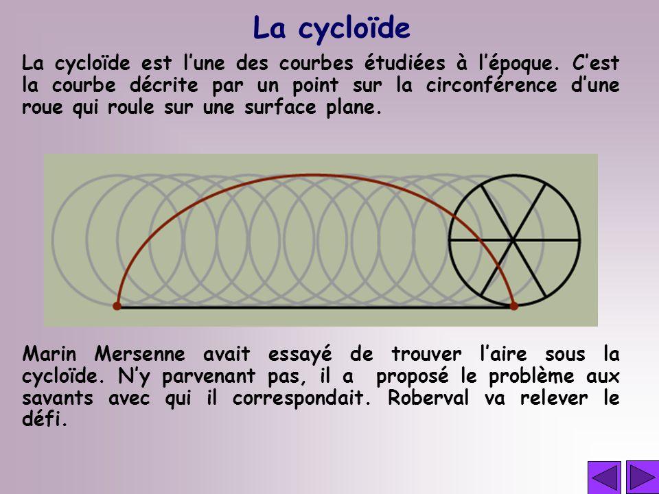 La cycloïde
