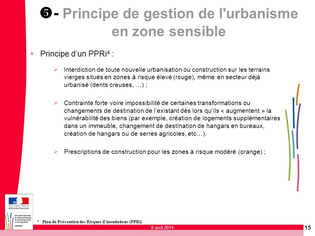- Principe de gestion de l urbanisme en zone sensible