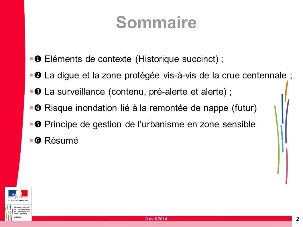Sommaire u Eléments de contexte (Historique succinct) ;