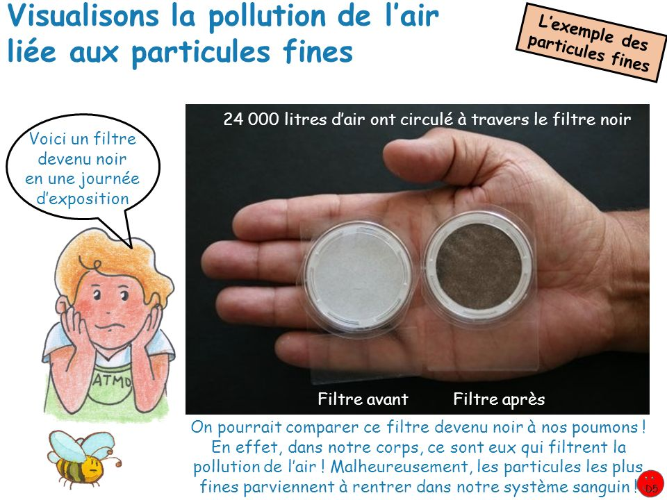 Visualisons la pollution de l'air liée aux particules fines