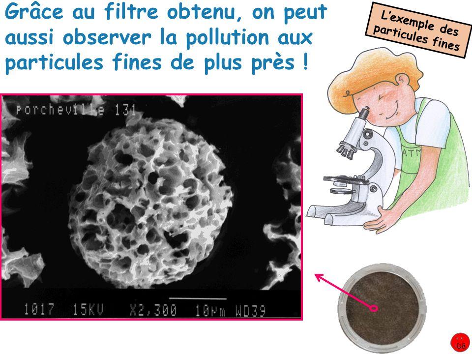 L'exemple des particules fines