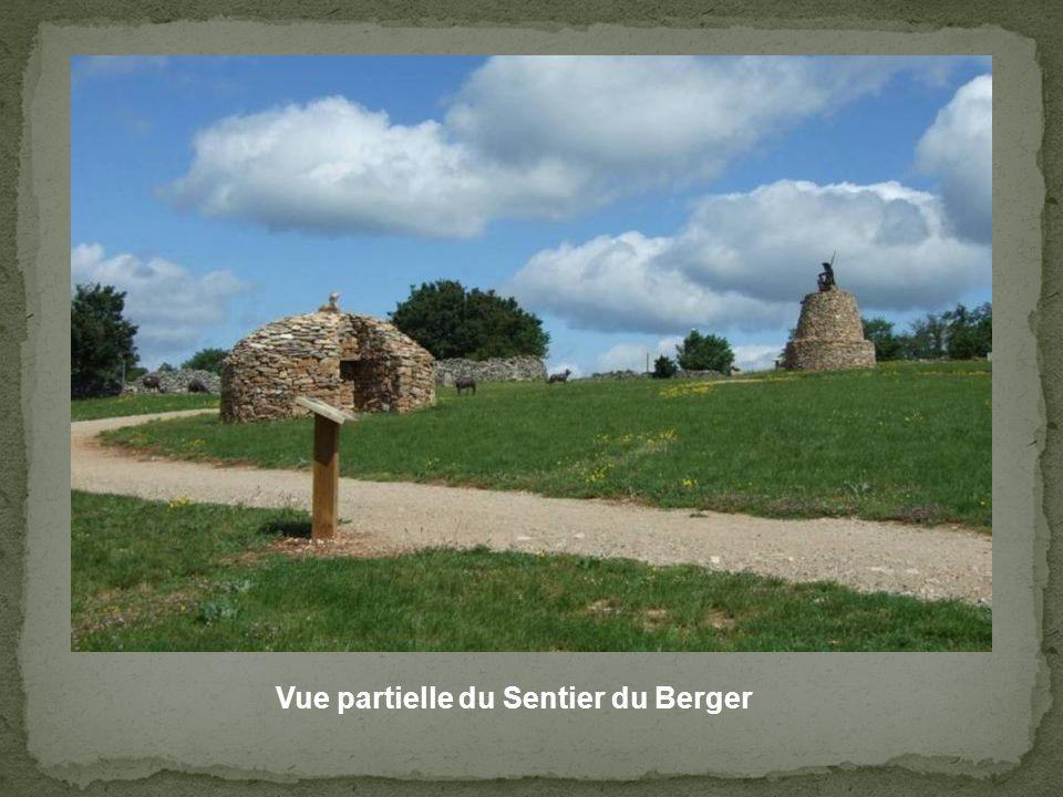 Vue partielle du Sentier du Berger