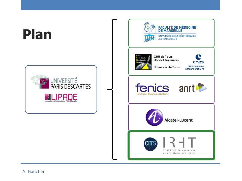 Plan 6 mois en 2014 A. Boucher