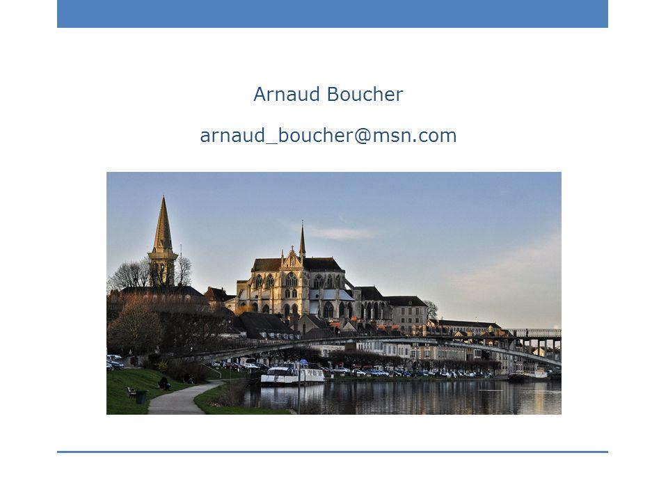 Arnaud Boucher arnaud_boucher@msn.com