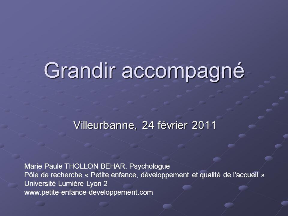 Grandir accompagné Villeurbanne, 24 février 2011