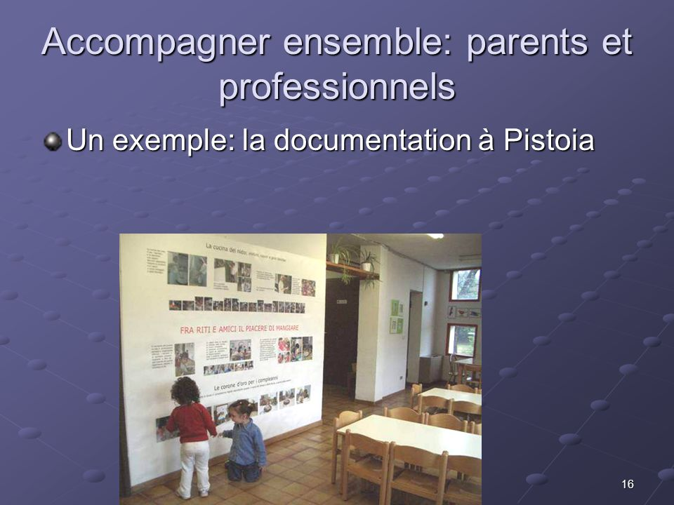 Accompagner ensemble: parents et professionnels